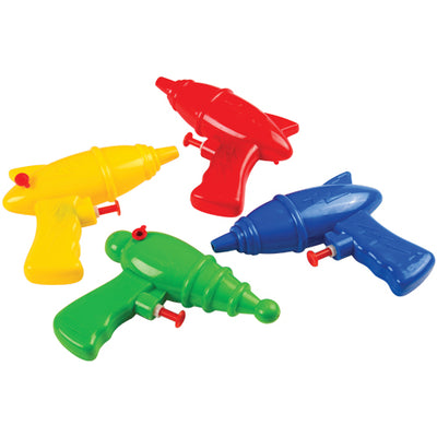 superhero water guns pack of 12 cs gs851  - Carnival Supplies