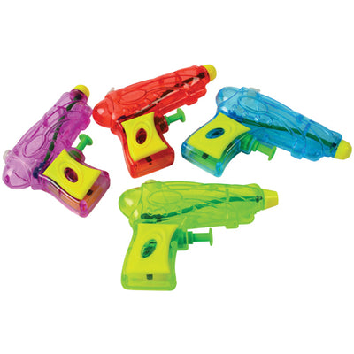 Galaxy Water Guns (pack of 12) - Toys