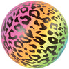 Rainbow Cheetah Print Ball 6 Inch (1 Dozen) - Party Themes