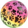 Rainbow Paws Ball 6 Inch (1 Dozen) - Party Themes