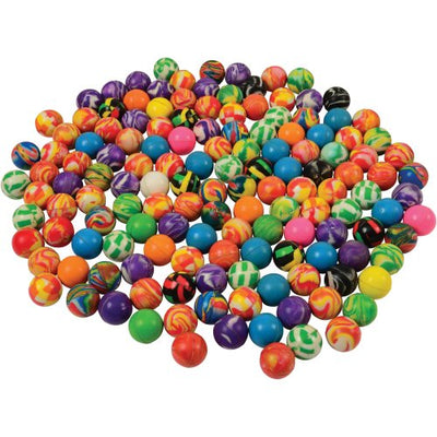 Bounce Ball Assortment 27Mm (bag of 144) - Toys