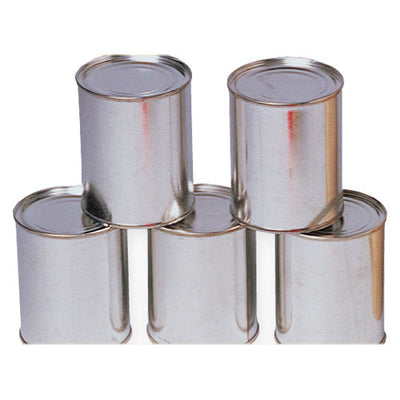 Metal Cans (One Dozen) - Carnival Supplies