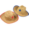 Child Cowboy Hat, Assorted Red or Blue - Costumes and Accessories