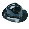 Black Fedoras (1 Dozen) - Costumes and Accessories