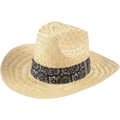 bandana high crown cowboy hat   Novelties and Toys