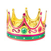 Gold Foil Crowns - Adult (One Dozen) - Costumes and Accessories