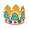 Gold Foil Crown - Child (One Dozen) - Costumes and Accessories