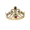 Plastic Queen Crown with Jewels - Party Themes