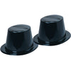 Black Top Hats (one dozen) - by Carnival Source Discount Toys