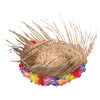 Luau Party Natural Beachcomber Hat With Lei ( Each) - Party Themes