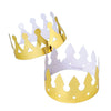 Foil Crowns (One Dozen) - Costumes and Accessories
