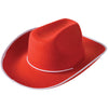 Cowboy Hat - Red - Sports