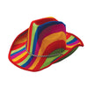 Rainbow Stripe Cowboy Hat - Costumes and Accessories
