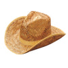 Rolled Cowboy Hat Tan - Costumes and Accessories