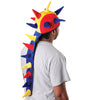 Multi Color Dragon Tail Hat - Costumes and Accessories