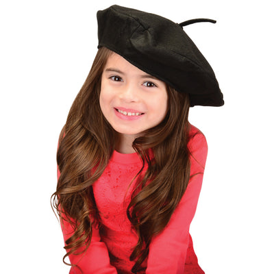 Costumes and Accessories - Black Beret