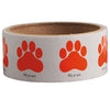 Paw Print Stickers-Orange, 100 per roll - School Stuff