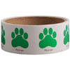Paw Print Stickers-Green, 100 per roll - School Stuff