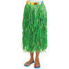 Luau Party Adult Hula Skirt With Flowers - Green - Party Themes