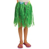 child hula skirt w flowers green  - Carnival Supplies