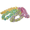 Two Tone Medium Petal Leis (1 Dozen) - Party Themes