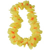 Two Tone Large Petal Leis, Yellow (one dozen) - Party Themes