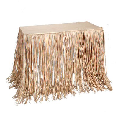 Raffia Table Skirt - Party Themes