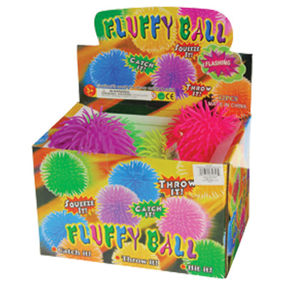 Flashing Puffer Balls - 6 Inch (One dozen) - Toys