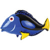 Blue Tang Fish Inflate - Toy Water Creatures - Toys