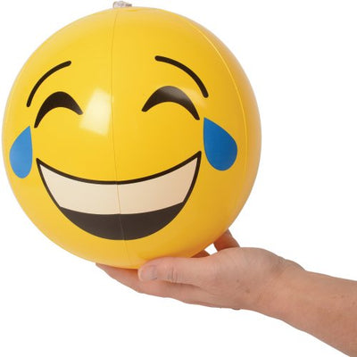 emoticon inflatable balls 12 inch 1 dozen   Novelties and Toys
