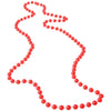 Bead Necklaces Orange (pack of 12) - Costumes and Accessories