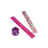Polka Dot Slap Bracelets (One Dozen) - by Carnival Source Discount Toys