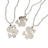 Dollar Sign Necklace (One Dozen) - Costumes and Accessories