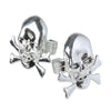 Metallic Skull Rings (1 dozen) - Costumes and Accessories