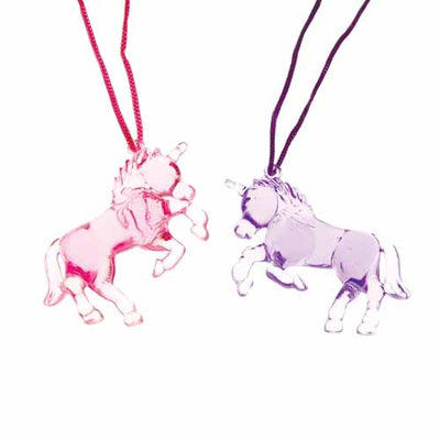 Unicorn Necklaces (One dozen) - Costumes and Accessories