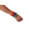 Jumbo Rubber Band Bracelets (1 Dozen) - Costumes and Accessories