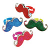 Moustache Rings 48 Pieces (Box) - Party Themes