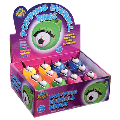popping eyeball rings   Novelties and Toys