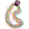 Neon Beads (One Dozen) - Costumes and Accessories