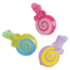 Lollipop Barrettes - 6 Pieces - Costumes and Accessories