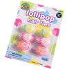 lollipop hair ties 6 pieces  - Carnival Supplies