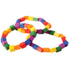 block mania bead bracelets pack of 12 cs ja840  - Carnival Supplies