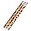 Animal Print Designer Pencils (One Dozen) - School Stuff