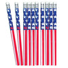 4th Of July Patriotic Pencils (One Dozen) - Holidays