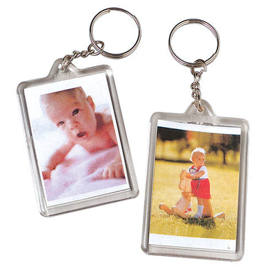 Photo Keychains (One Dozen) - by Carnival Source Discount Toys
