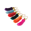 Rabbits Foot Keychain (1 Dozen) - Novelties