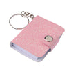 mini glitter notebook keychains  - Carnival Supplies