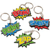 Superhero Keychains (1 dozen) - Party Themes