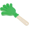 School Spirit Jumbo Hand Clapper (Green - White) - Sports