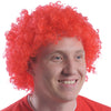 School Spirit Team Spirit Wig - Red - Sports